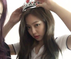 bp, jennie, and girl image