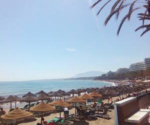 andalucia, beach, and ⓟⓛⓐⓨⓐ image