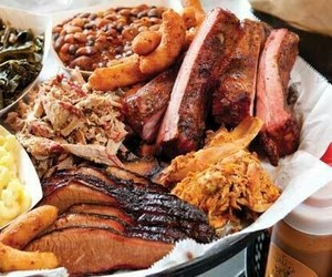 baked beans, barbecue, and bbq image