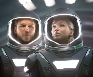 Jennifer Lawrence, passengers, and chris pratt image