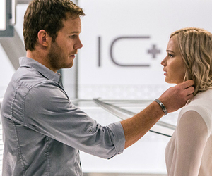 Jennifer Lawrence, movie, and passengers image