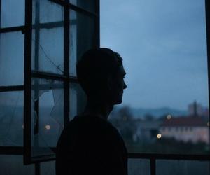 boy, night, and blue image