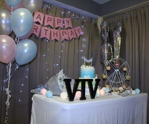 balloons, birthday, and boyfriend image