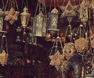 lantern, light, and magic image