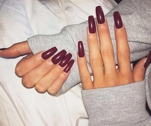 nails, red, and goals image