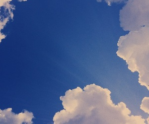 backround, blue, and clouds image
