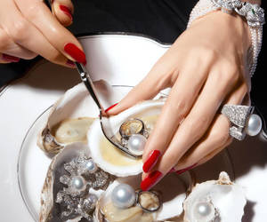 pearls, jewelry, and luxury image