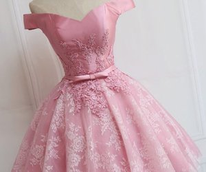 homecoming dresses pink and sleeveless prom dresses image
