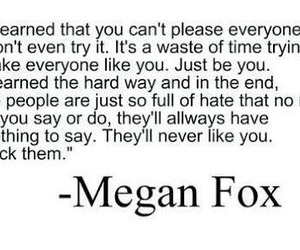 megan fox, quote, and text image
