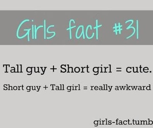 girl, funny, and fact image