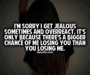jealous, quotes, and true image