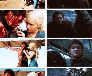 jonerys, game of thrones, and jon snow image