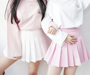fashion, pastel, and pink image