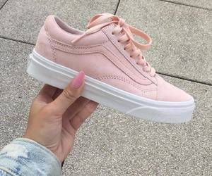 pink, girl, and shoes image