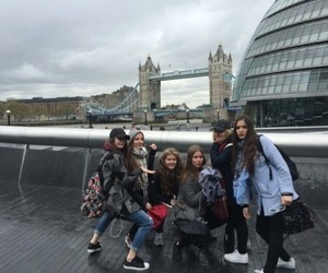 girls, london, and squad image