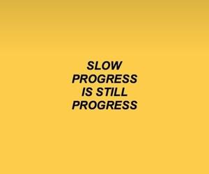 progress and love image