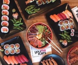 food, japanese, and korea image
