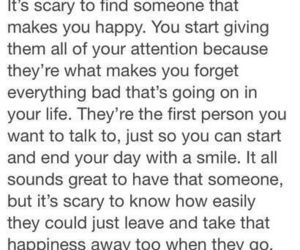 love, quotes, and scary image