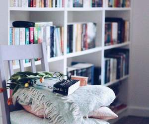 book, flower, and good morning image