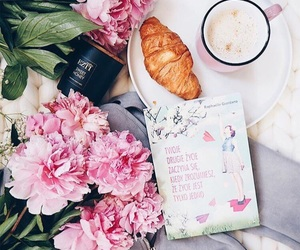flowers, food, and morning image