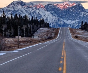 adventure, mountains, and road image