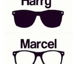 one direction, Harry Styles, and marcel image