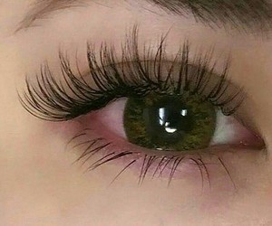 eyes, green, and beauty image