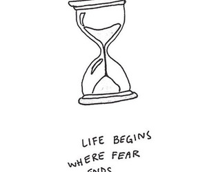 fear and life image