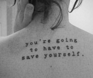 text tattoo and type writer font tattoo image