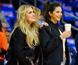 kendall jenner and khloe kardashian image