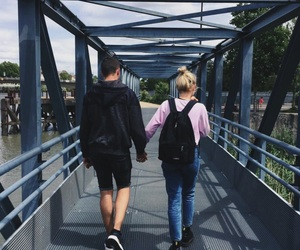 best friends, couple, and cute couple image