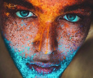 boy, blue, and colors image