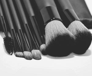 Brushes, pink, and make up image