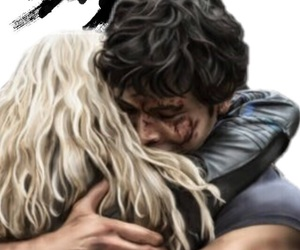 otp, the 100, and clarke griffin image