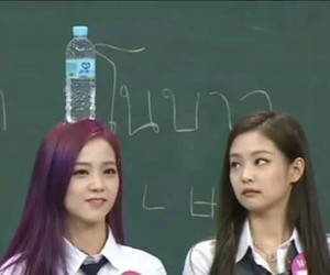 reaction, black pink, and funny image
