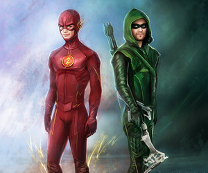 arrow, cw, and flash image
