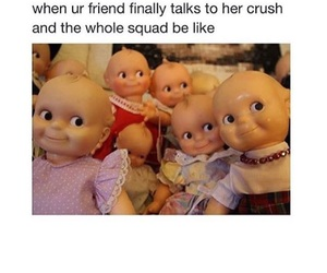 funny, crush, and squad image