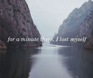 lost, quotes, and life image