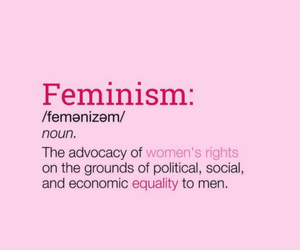 empowerment, equality, and feminist image