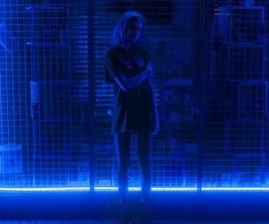 aesthetic, blue, and dark image