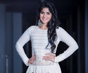 white dress, south indian actress, and tamil actress image