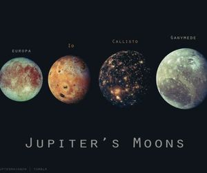 astronomy, jupiter, and moon image