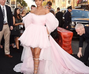 rihanna, pink, and dress image