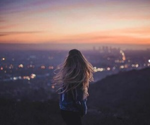 girl, adventure, and city image