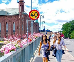 places, stockholm, and travel image