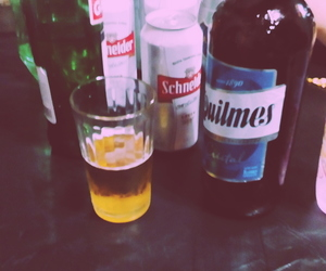 alcohol, quilmes, and fine image