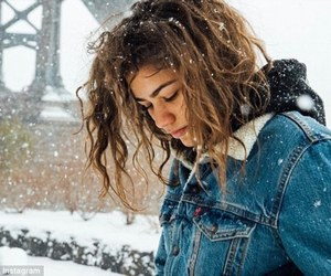 zendaya, snow, and zendaya coleman image