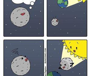 cartoon, earth, and funny image