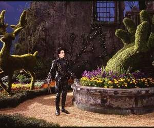 edward scissorhands, tim burton, and johnny depp image