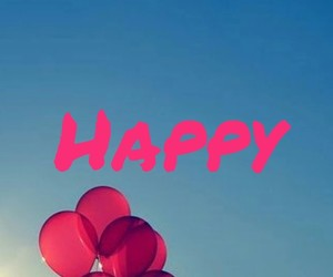 background, pink, and balloon image